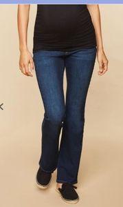 Destination Maternity Indigo Blue Bootcut Jeans